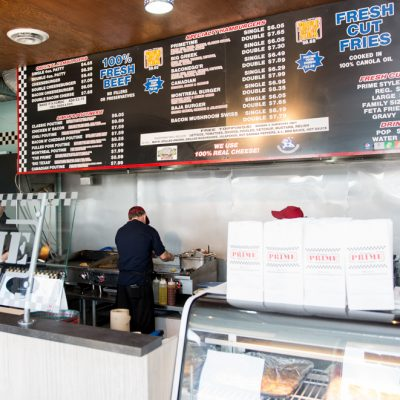 Simon's Burgers 3580 Tecumseh Rd East Windsor Interior