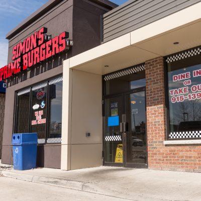 Simon's Burgers 3580 Tecumseh Rd East Windsor Exterior