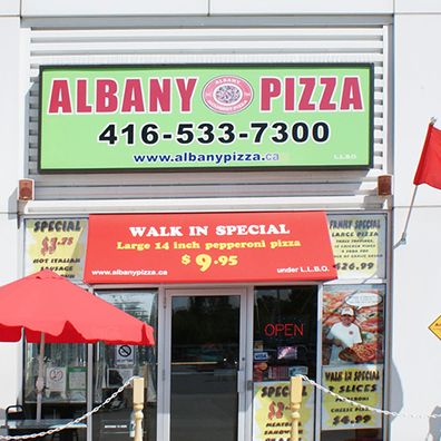Lansdowne 222 Albany Feature Pizza